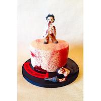 Zombie Themed Cake!
