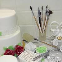"""Cake decorating"""