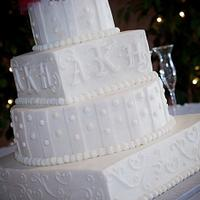 Wedding cake by Tetyana