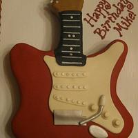 Fender Stratocaster Cake