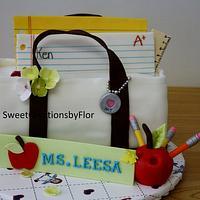 A teacher's cake
