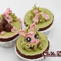 Easter cupcakes by ChokoLate