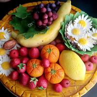 Fondant Fruit Tray