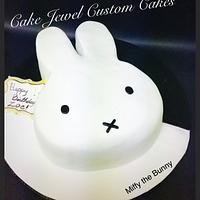 Miffy the Bunny Cake