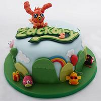Moshi Monsters Birthday Cake