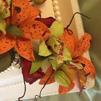 Gumpaste flowers galore by Kerri Morris