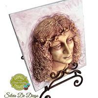 Retrato de Salai.Leonardo da Vinci challenger
