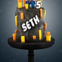 Lego Bizarro Cake