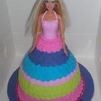 barbie doll cake by jodie baker