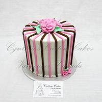 Buttercream with fondant details
