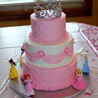 Kayton's princess cake