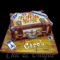 Shabby Chic Suitcase