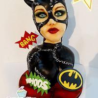 Catwoman Cake!!