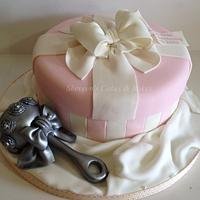 Keepsakes Christening Cake