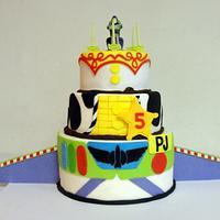Toy Story 5 Cake