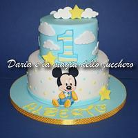 Baby MickeyMouse cake