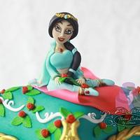 Jasmine pillow cake