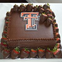 Texas Tech Grooms cake