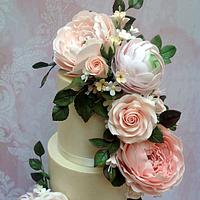 Sugar Flowers  Arrangement