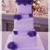 Cadbury Purple Roses
