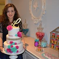 Me and my 25th Birthday cake!