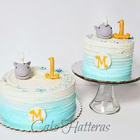 Whale of a First Birthday!