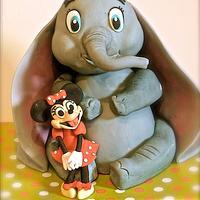 Dumbo meets Mini mouse :)