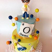Little Chemist cake
