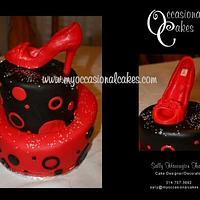 Carlos Santana(R) Shoe cake
