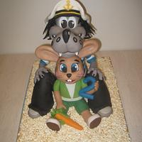 3D cake Well, Just You Wait! Jen počkej zajíci!