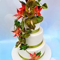 Painter s paradise cake