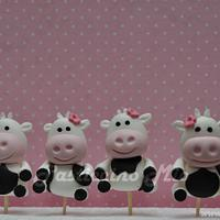 Cow Cupcakes by Pasticcino Mio