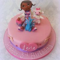 Doc Mc Stuffins Cake by Clairella Cakes