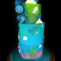 Cakerbuddies collaboration- Cool Blues