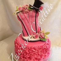 Glamour Burlesque Cake