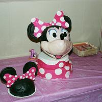 Mini Mouse by Anna Rapoza