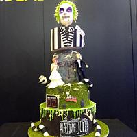 Beetleljuice cake for #ExpoPan2019