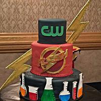 The Flash Premiere Cake