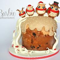 Owls family (Panettone)
