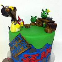 Angry Birds by Maria