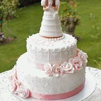 First Holy Communion cake by Artym