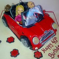 My red Mini
