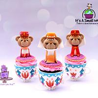 IT'S A SMALL WORLD; A Tribute to Children Cupcake Collaboration - ISTANBUL, TURKEY