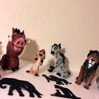 Lion King figures