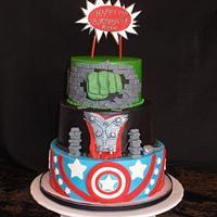 My Grandson's 13th Birthday Cake