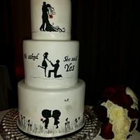 Silhouette Cake, The Love Story