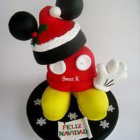 Mickey's 3d cake