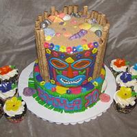 Tiki Birthday by Tiffany Palmer