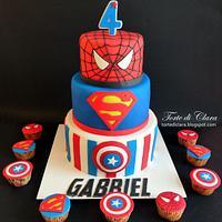 Marvel cake