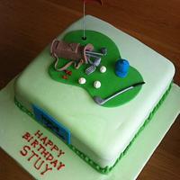 Golf Cake